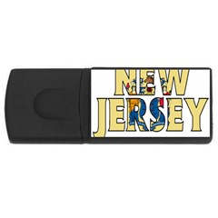 New Jersey 1GB USB Flash Drive (Rectangle)