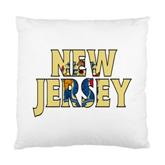 New Jersey Cushion Case (One Side)