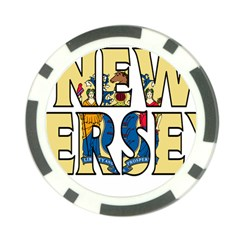New Jersey Poker Chip 10 Pack