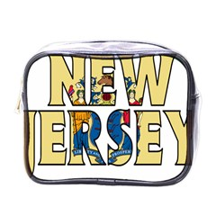 New Jersey Mini Travel Toiletry Bag (One Side)