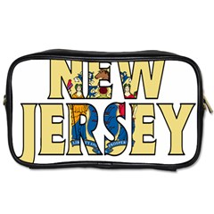 New Jersey Travel Toiletry Bag (one Side)