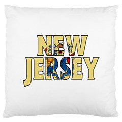 New Jersey Large Cushion Case (one Side)
