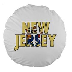 New Jersey 18  Premium Round Cushion