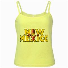 New Mexico Yellow Spaghetti Tank