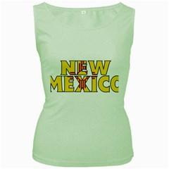 New Mexico Womens  Tank Top (green)