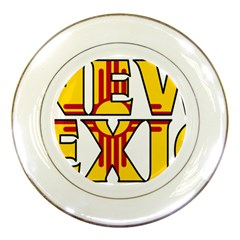 New Mexico Porcelain Display Plate