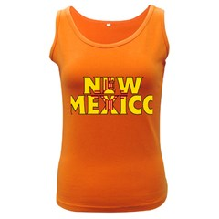 New Mexico Womens  Tank Top (Dark Colored)