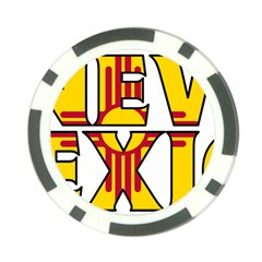 New Mexico Poker Chip 10 Pack