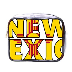 New Mexico Mini Travel Toiletry Bag (one Side)