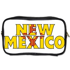 New Mexico Travel Toiletry Bag (One Side)