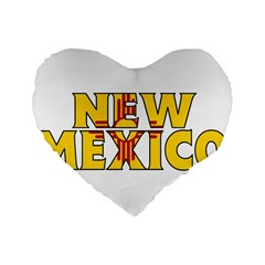 New Mexico 16  Premium Heart Shape Cushion