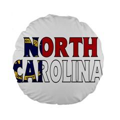 N Carolina 15  Premium Round Cushion