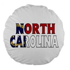 N Carolina 18  Premium Round Cushion
