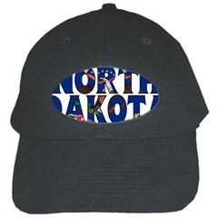 North Dakota Black Baseball Cap