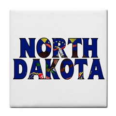 North Dakota Face Towel
