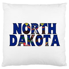 North Dakota Large Cushion Case (One Side)