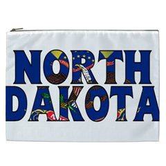 North Dakota Cosmetic Bag (XXL)