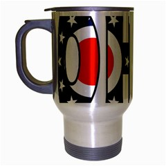 Ohio Travel Mug (Silver Gray)