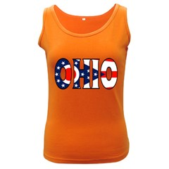 Ohio Womens  Tank Top (Dark Colored)