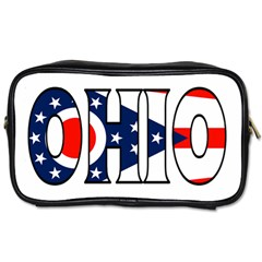 Ohio Travel Toiletry Bag (One Side)
