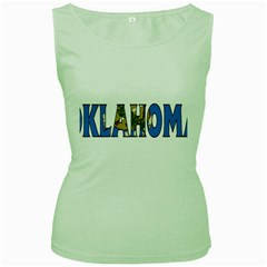Oklahoma Womens  Tank Top (green)