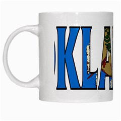 Oklahoma White Coffee Mug