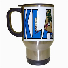 Oklahoma Travel Mug (white)