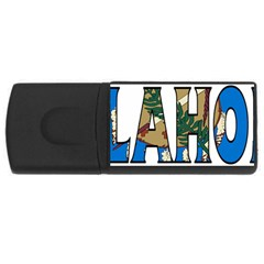Oklahoma 4GB USB Flash Drive (Rectangle)