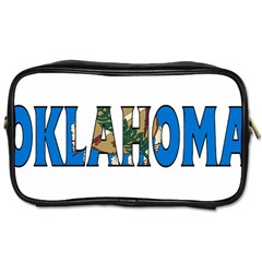 Oklahoma Travel Toiletry Bag (one Side)