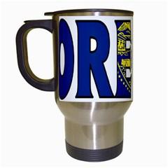Oregon Travel Mug (white)