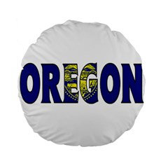 Oregon 15  Premium Round Cushion