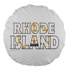 Rhode Island 18  Premium Round Cushion