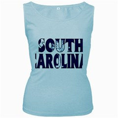 South Carolina Womens  Tank Top (Baby Blue)
