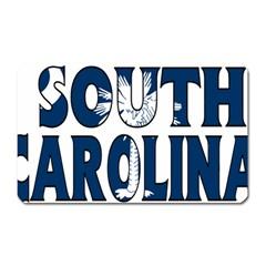 South Carolina Magnet (Rectangular)