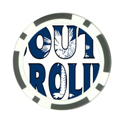 South Carolina Poker Chip 10 Pack