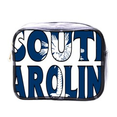 South Carolina Mini Travel Toiletry Bag (One Side)
