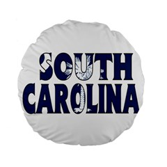 South Carolina 15  Premium Round Cushion