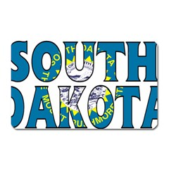 South Dakota Magnet (Rectangular)