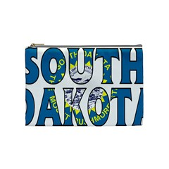 South Dakota Cosmetic Bag (Medium)
