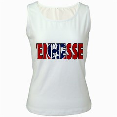 Tennessee Womens  Tank Top (White)