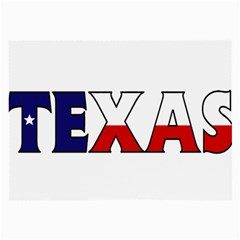 Texas Glasses Cloth (large, Two Sided)
