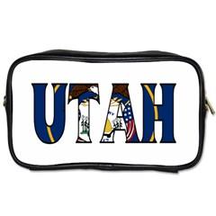 Utah Travel Toiletry Bag (One Side)