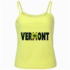 Vermont Yellow Spaghetti Tank