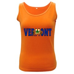 Vermont Womens  Tank Top (Dark Colored)