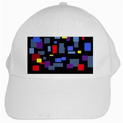 Contempt White Baseball Cap