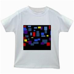Contempt Kids' T-shirt (White)