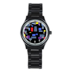 Contempt Sport Metal Watch (Black)