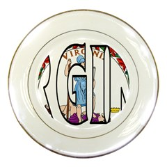 Virginia Porcelain Display Plate