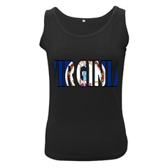 Virginia Womens  Tank Top (Black)