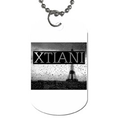 Xtianiparis Dog Tag (one Sided)